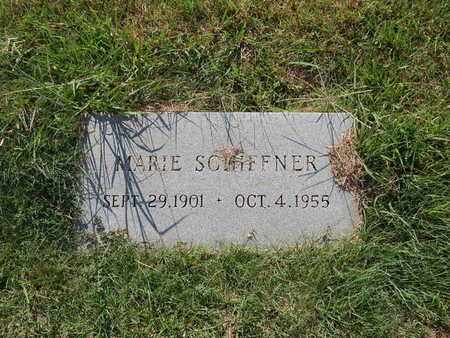 SCHIFFNER, MARIE (SECOND MARKER) - Alfalfa County, Oklahoma | MARIE (SECOND MARKER) SCHIFFNER - Oklahoma Gravestone Photos