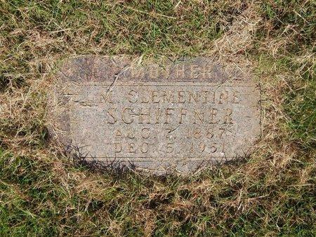 TURNER SCHIFFNER, M CLEMENTINE - Alfalfa County, Oklahoma | M CLEMENTINE TURNER SCHIFFNER - Oklahoma Gravestone Photos
