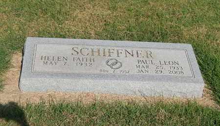 SCHIFFNER, PAUL LEON - Alfalfa County, Oklahoma | PAUL LEON SCHIFFNER - Oklahoma Gravestone Photos