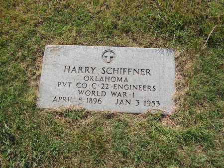 SCHIFFNER (VETERAN WWI), HARRY - Alfalfa County, Oklahoma   HARRY SCHIFFNER (VETERAN WWI) - Oklahoma Gravestone Photos