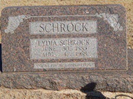 SCHROCK, LYDIA - Alfalfa County, Oklahoma   LYDIA SCHROCK - Oklahoma Gravestone Photos