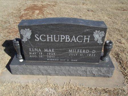 SCHUBACH, ELNA MAE - Alfalfa County, Oklahoma   ELNA MAE SCHUBACH - Oklahoma Gravestone Photos