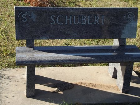 SCHUBERT, FAMILY BENCH - Alfalfa County, Oklahoma | FAMILY BENCH SCHUBERT - Oklahoma Gravestone Photos