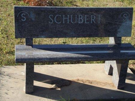 SCHUBERT, FAMILY BENCH - Alfalfa County, Oklahoma | FAMILY BENCH SCHUBERT - Oklahoma Gravestone Photos