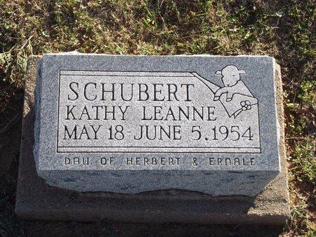 SCHUBERT, KATHY LEANNE - Alfalfa County, Oklahoma | KATHY LEANNE SCHUBERT - Oklahoma Gravestone Photos