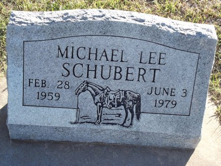 SCHUBERT, MICHAEL LEE - Alfalfa County, Oklahoma   MICHAEL LEE SCHUBERT - Oklahoma Gravestone Photos