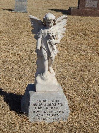 SCHUPBACH, BRENDA LORETTA - Alfalfa County, Oklahoma   BRENDA LORETTA SCHUPBACH - Oklahoma Gravestone Photos