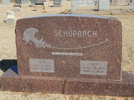 SCHUPBACH, PETE - Alfalfa County, Oklahoma | PETE SCHUPBACH - Oklahoma Gravestone Photos