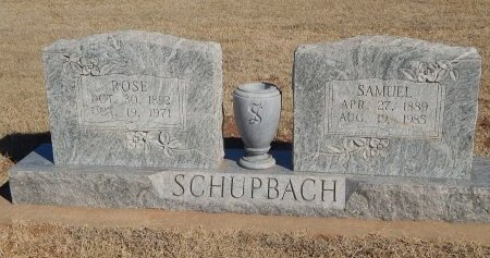 SCHUPBACH, ROSE - Alfalfa County, Oklahoma | ROSE SCHUPBACH - Oklahoma Gravestone Photos