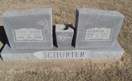 SCHURTER, VERNON C - Alfalfa County, Oklahoma | VERNON C SCHURTER - Oklahoma Gravestone Photos