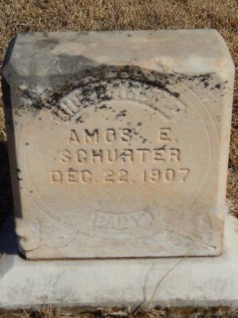 SCHURTER, AMOS E - Alfalfa County, Oklahoma | AMOS E SCHURTER - Oklahoma Gravestone Photos