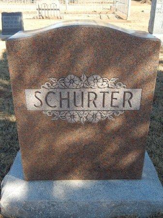 SCHURTER, FAMILY MARKER - Alfalfa County, Oklahoma | FAMILY MARKER SCHURTER - Oklahoma Gravestone Photos