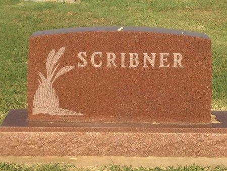 SCRIBNER, FAMILY MARKER - Alfalfa County, Oklahoma   FAMILY MARKER SCRIBNER - Oklahoma Gravestone Photos