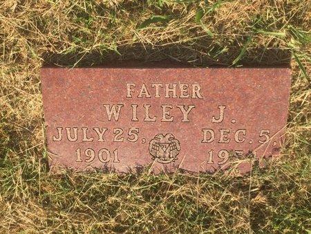 SCRIBNER, WILEY J - Alfalfa County, Oklahoma | WILEY J SCRIBNER - Oklahoma Gravestone Photos