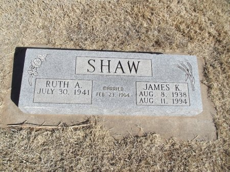 SHAW, JAMES K - Alfalfa County, Oklahoma | JAMES K SHAW - Oklahoma Gravestone Photos