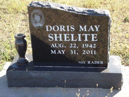 RADER SHELITE, DORIS MAY - Alfalfa County, Oklahoma | DORIS MAY RADER SHELITE - Oklahoma Gravestone Photos