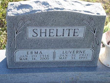 SHELITE, LUVERNE - Alfalfa County, Oklahoma   LUVERNE SHELITE - Oklahoma Gravestone Photos