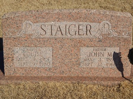 RIEGER STAIGER, LOUISE - Alfalfa County, Oklahoma | LOUISE RIEGER STAIGER - Oklahoma Gravestone Photos