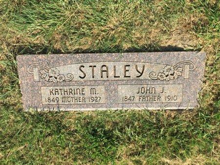 STALEY, JOHN J - Alfalfa County, Oklahoma | JOHN J STALEY - Oklahoma Gravestone Photos