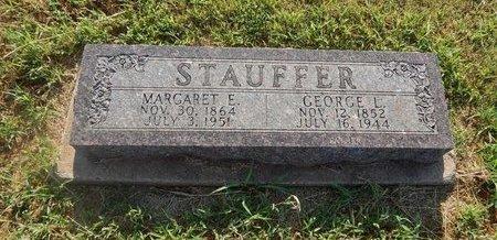 STAUFFER, GEORGE L - Alfalfa County, Oklahoma | GEORGE L STAUFFER - Oklahoma Gravestone Photos