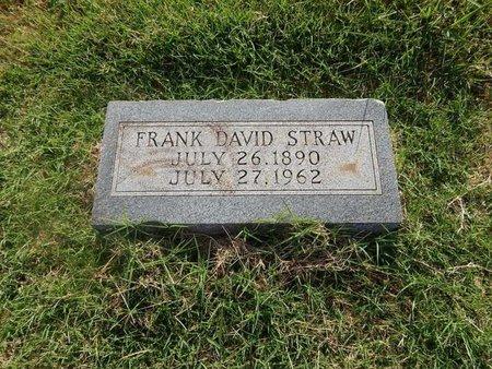 STRAW, FRANK DAVID - Alfalfa County, Oklahoma | FRANK DAVID STRAW - Oklahoma Gravestone Photos