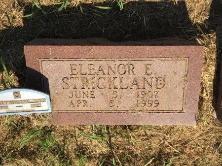 STRICKLAND, ELEANOR E - Alfalfa County, Oklahoma | ELEANOR E STRICKLAND - Oklahoma Gravestone Photos