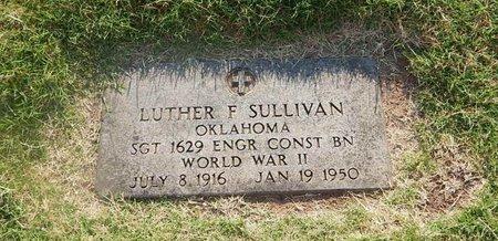 SULLIVAN (VETERAN WWII), LUTHER F - Alfalfa County, Oklahoma | LUTHER F SULLIVAN (VETERAN WWII) - Oklahoma Gravestone Photos