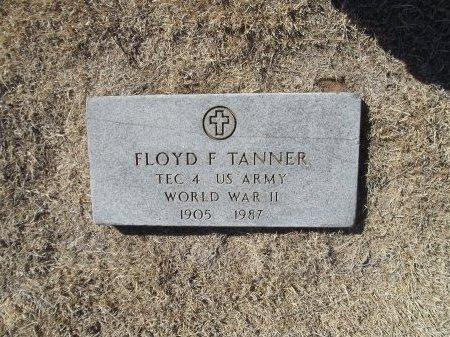 TANNER (VETERAN WWII), FLOYD F - Alfalfa County, Oklahoma | FLOYD F TANNER (VETERAN WWII) - Oklahoma Gravestone Photos