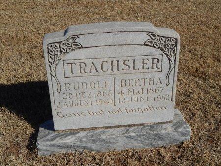 TRACHSLER, RUDOLF - Alfalfa County, Oklahoma   RUDOLF TRACHSLER - Oklahoma Gravestone Photos