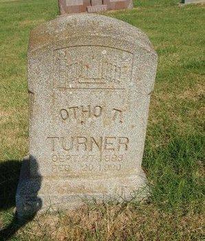 TURNER, OTHO T - Alfalfa County, Oklahoma   OTHO T TURNER - Oklahoma Gravestone Photos