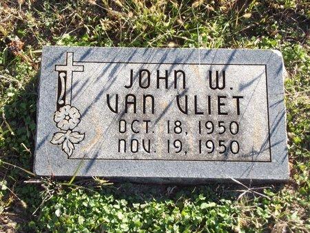 VAN VLIET, JOHN W - Alfalfa County, Oklahoma   JOHN W VAN VLIET - Oklahoma Gravestone Photos