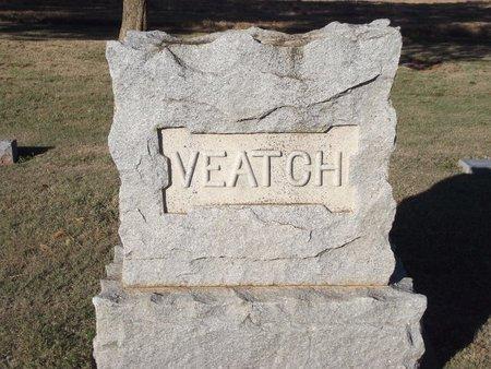 VEATCH, FAMILY MARKER - Alfalfa County, Oklahoma   FAMILY MARKER VEATCH - Oklahoma Gravestone Photos