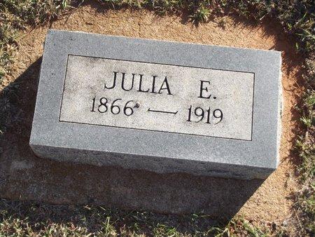 VEATCH, JULIA E - Alfalfa County, Oklahoma | JULIA E VEATCH - Oklahoma Gravestone Photos