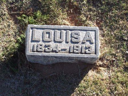 VEATCH, LOUISA M - Alfalfa County, Oklahoma | LOUISA M VEATCH - Oklahoma Gravestone Photos