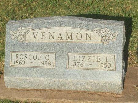 VENAMON, LIZZIE L - Alfalfa County, Oklahoma | LIZZIE L VENAMON - Oklahoma Gravestone Photos