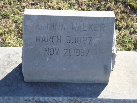 DILLON WALKER, ELMINA - Alfalfa County, Oklahoma | ELMINA DILLON WALKER - Oklahoma Gravestone Photos