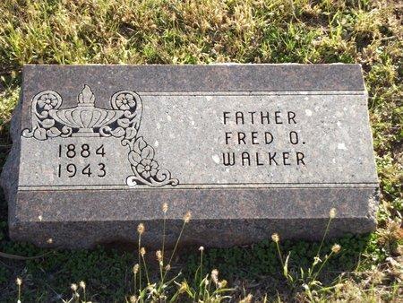 WALKER, FRED O - Alfalfa County, Oklahoma | FRED O WALKER - Oklahoma Gravestone Photos