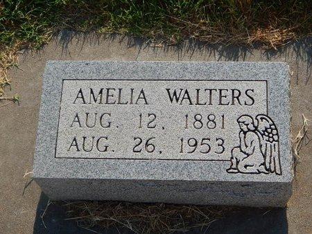 WALTERS, AMELIA - Alfalfa County, Oklahoma | AMELIA WALTERS - Oklahoma Gravestone Photos