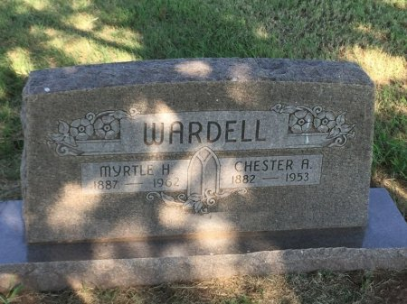 WARDELL, MYRTLE H - Alfalfa County, Oklahoma | MYRTLE H WARDELL - Oklahoma Gravestone Photos