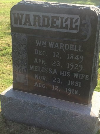 WARDELL, WILLIAM - Alfalfa County, Oklahoma | WILLIAM WARDELL - Oklahoma Gravestone Photos