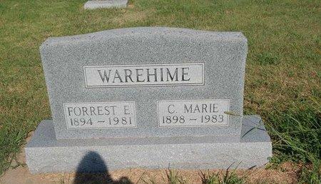 WAREHIME, C MARIE - Alfalfa County, Oklahoma   C MARIE WAREHIME - Oklahoma Gravestone Photos