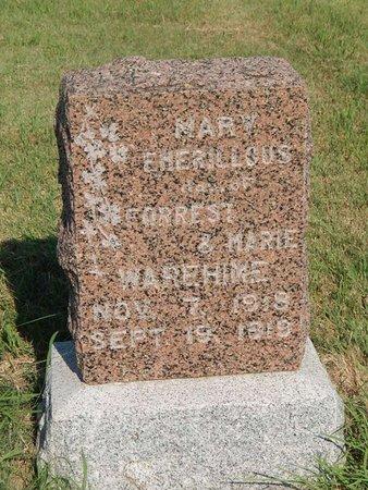 WAREHIME, MARY EMERILLOUS - Alfalfa County, Oklahoma | MARY EMERILLOUS WAREHIME - Oklahoma Gravestone Photos