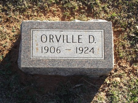 WARFIELD, ORVILLE D - Alfalfa County, Oklahoma | ORVILLE D WARFIELD - Oklahoma Gravestone Photos