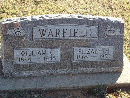 WILLIAMS WARFIELD, ELIZABETH - Alfalfa County, Oklahoma | ELIZABETH WILLIAMS WARFIELD - Oklahoma Gravestone Photos
