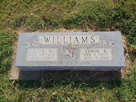 WILLIAMS, EDWIN R - Alfalfa County, Oklahoma | EDWIN R WILLIAMS - Oklahoma Gravestone Photos
