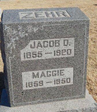 ZEHR, MAGGIE - Alfalfa County, Oklahoma | MAGGIE ZEHR - Oklahoma Gravestone Photos