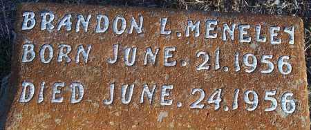 MENELEY, BRANDON L - Atoka County, Oklahoma | BRANDON L MENELEY - Oklahoma Gravestone Photos