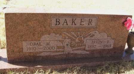 BAKER, OPAL M - Beckham County, Oklahoma   OPAL M BAKER - Oklahoma Gravestone Photos