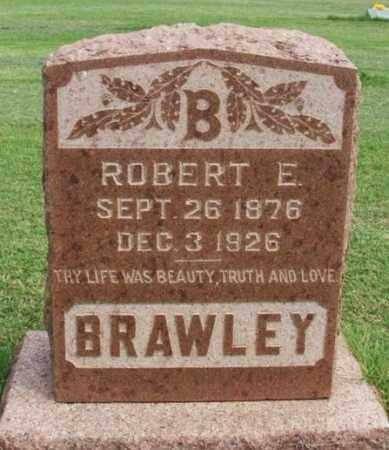 BRAWLEY, ROBERT E - Beckham County, Oklahoma   ROBERT E BRAWLEY - Oklahoma Gravestone Photos