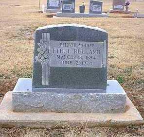 ANDERSON BULLARD, ETHEL MAY - Beckham County, Oklahoma   ETHEL MAY ANDERSON BULLARD - Oklahoma Gravestone Photos